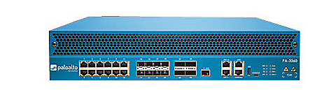 Palo Alto Networks PA-3260 with redundant AC power supplies