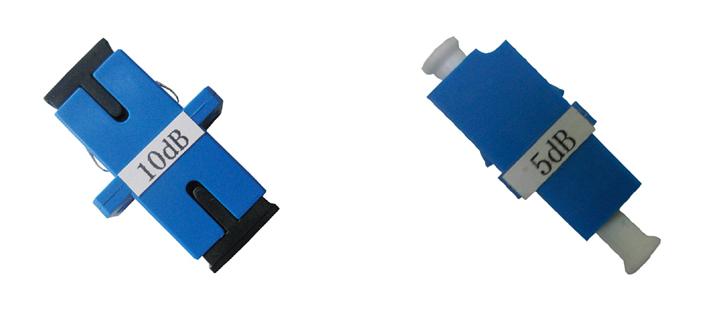 Bộ suy hao quang Fiber Optic Attenuator SC LC FC 1dB ~ 30dB
