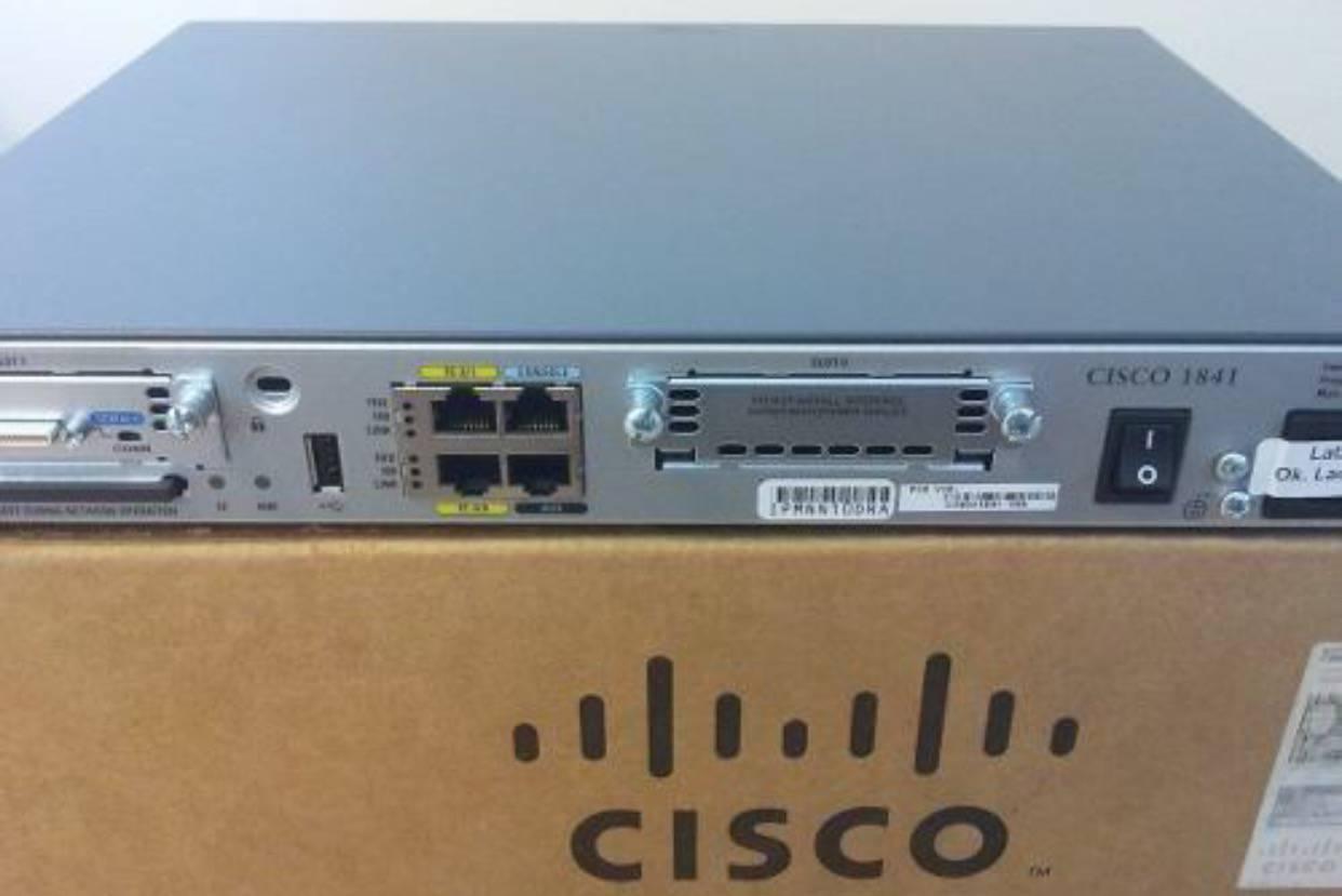 Bộ định tuyến Router Cisco 1841