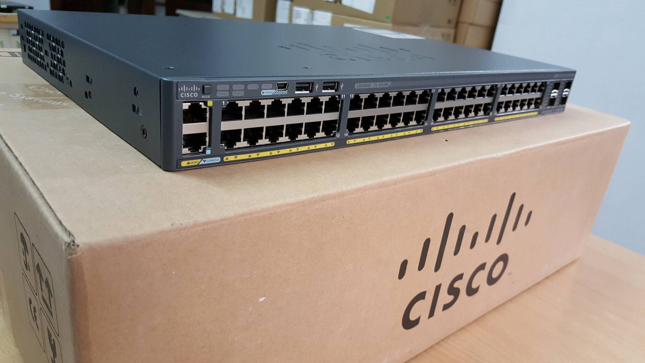 cấu hình Switch Cisco 2960
