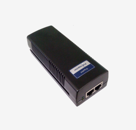 PoE Injector 1 Port 10/100/1000Mbps Fully IEEE802.3af compliant Internal 16W power adaptors Power cable included